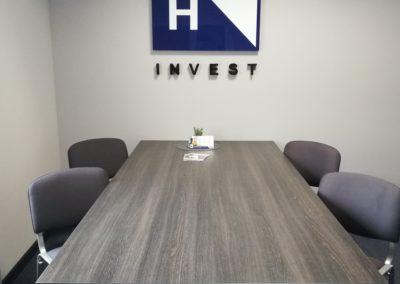Sala planowania zadaniowego HR Invest