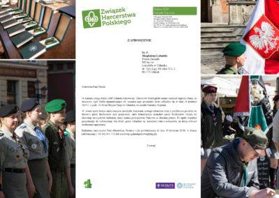 Podpisaniem Aktu Nadania Sztandaru przez fundatorów